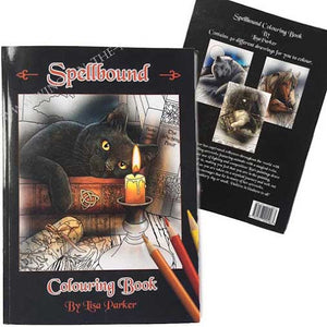 Lisa Parker Spellbound colouring book