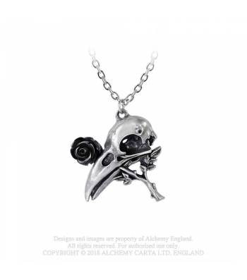 Quietus Rose pendant - Alchemy Gothic