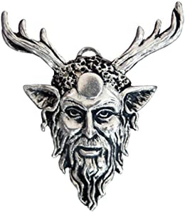 Sterling silver Cernunnous pendant - sigils of the craft