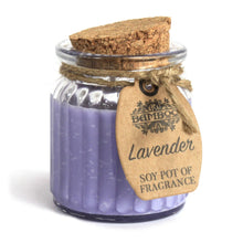 Load image into Gallery viewer, Scented candle - Soy pot of fragrance - Lavender