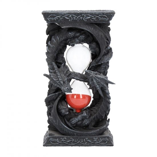 Time Guardian Hour Glass Gothic Dragon Sand Timer 18cm