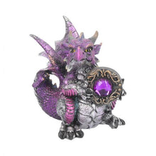 Load image into Gallery viewer, Amethyst dragonling figure 13cm