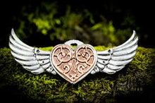 Load image into Gallery viewer, Valkyrie heart brooch - Anne stokes