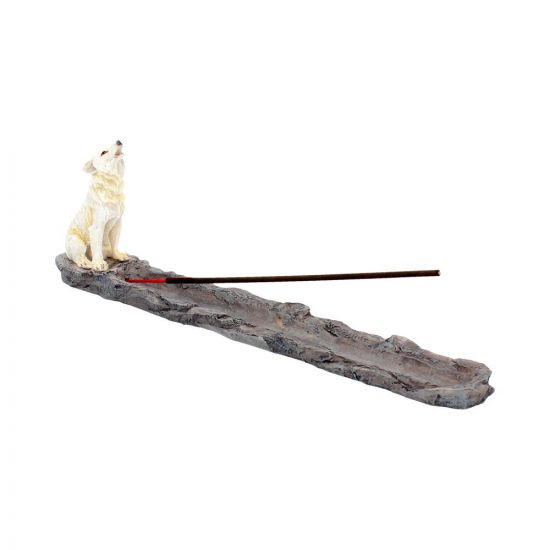 Wolf call - incense stick holder