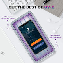 Load image into Gallery viewer, Cahot Fast 8-UV Light Sanitizer Box