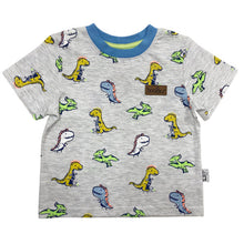 Load image into Gallery viewer, Boys Happy Dino Tee