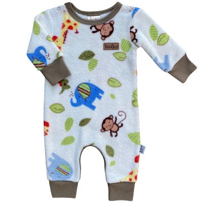 Onesie jungle fluffy sherpa