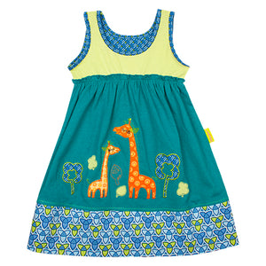 Giraffe Scenic Dress