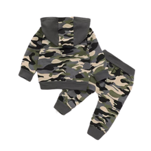 Load image into Gallery viewer, Boys daddy's boy camo tracksuit