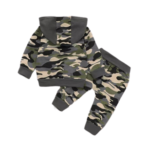 Boys daddy's boy camo tracksuit