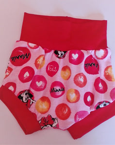 Girls harem shorts mini mouse