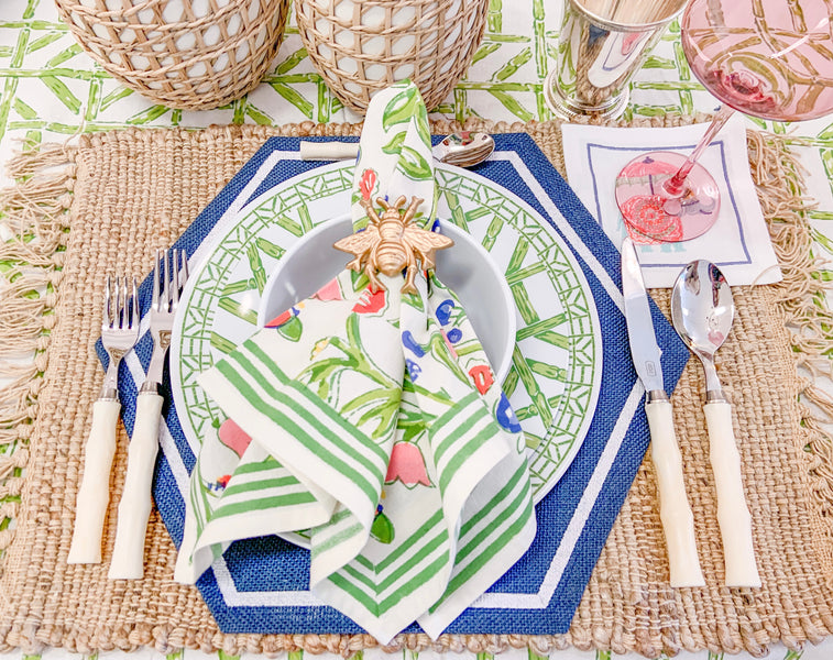 Our Newest Tabletop Linens for Spring