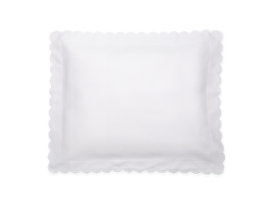 Matouk White Diamond Pique Standard Sham-White