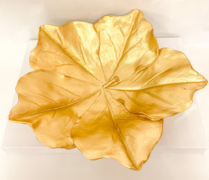 Gold Maple Plate