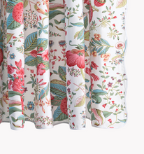 Load image into Gallery viewer, Matouk & Schumacher Pomegranate Shower Curtain