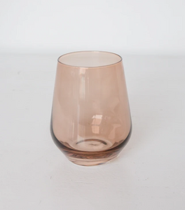 Estelle Colored Wine Stemless