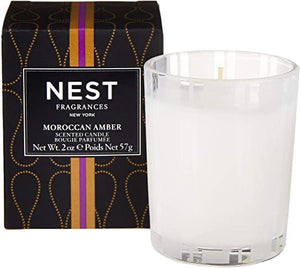 Moroccan Amber Votive Candle