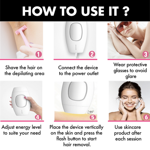 laser hair removal point store