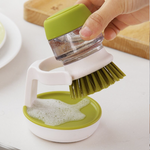 POINT™ Cleaning Brush with Soap Dispenser