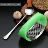 POINT™ Manual Stainless Steel Garlic Press