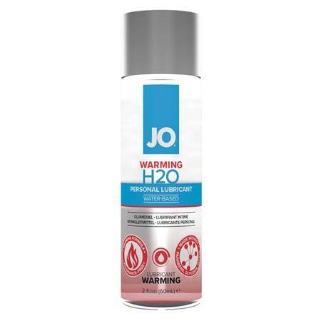 JO H2O - Warming - Lubricant (Water-Based) 2 fl oz / 60 ml - Tasteful Desires Adult Shop