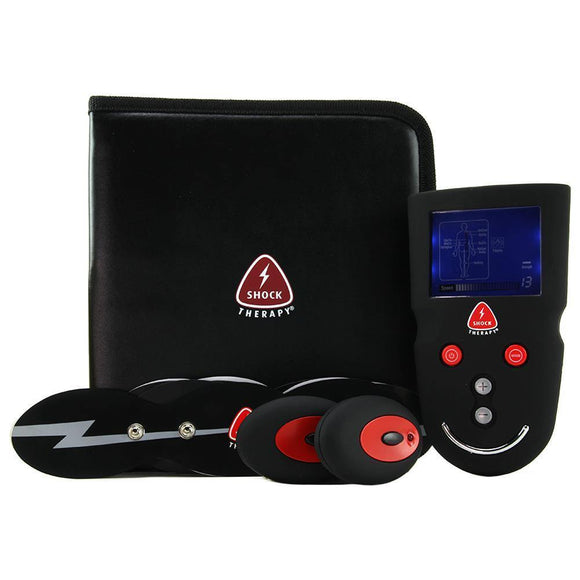 Shock Therapy Professional Wireless Electro-Massage Kit-Tasteful Desires Adult Shop