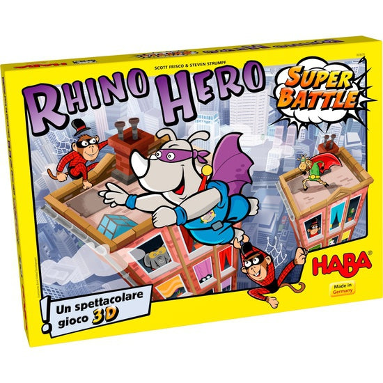 Rhino hero super battle- gioco da tavolo