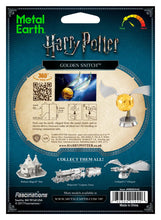 Carica l'immagine nel visualizzatore di Gallery, Harry Potter - Golden Snitch - Metal Earth