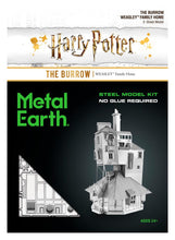 Carica l'immagine nel visualizzatore di Gallery, Harry Potter - The Burrow - Metal Earth
