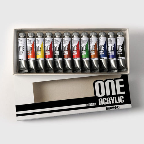Tempere 12 pz one acrylic 20ml