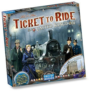 Ticket to ride espansione 5 - united kingdom
