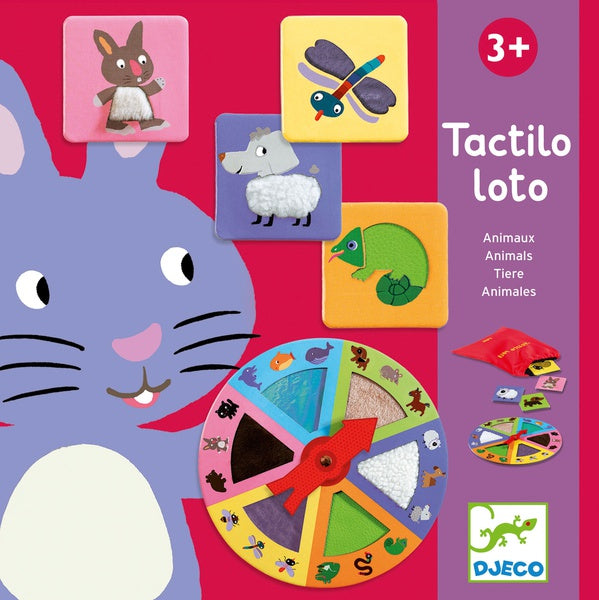 Tactilo - lotto animals
