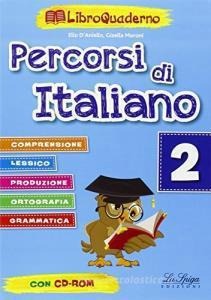 Percorsi Di Italiano Libroquaderno 2 + Cd