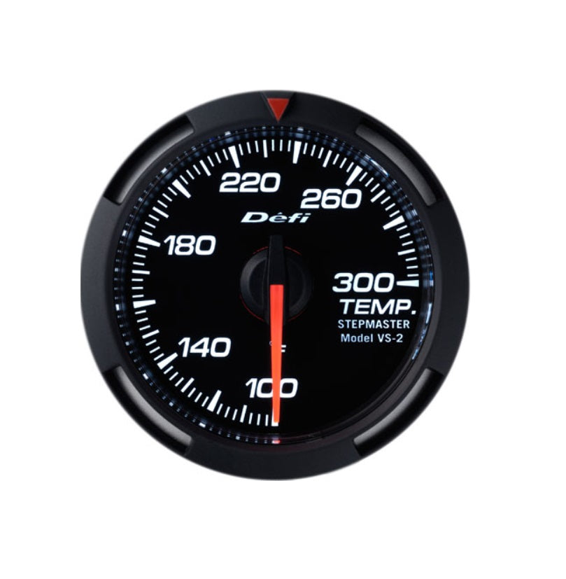 Defi White Racer 52mm Gauge - Water or Oil Temperature Gauge