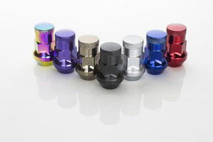 Muteki SR35 Close End Lug Nuts w/Lock Set - M12x1.5
