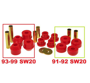 Front Control Arm Bushings (w/ Strut Rod Bushings) - SW20