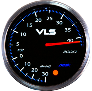 Revel VLSII Boost 52mm Gauge 0-45psi