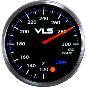 Revel VLSII Oil Temperature 52mm Gauge