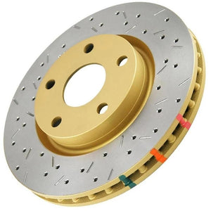 DBA Drilled & Slotted T3 Brake Rotors- FR-S / BRZ / GT86