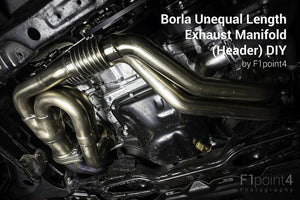 Borla Unequal Length Header - FR-S / BRZ / 86