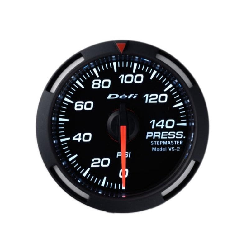 Defi White Racer 52mm Gauge - Fuel or Oil Pressure Gauge