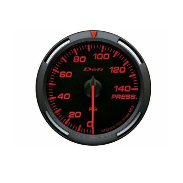 Defi Red Racer 52mm Gauge - Fuel or Oil Pressure Gauge