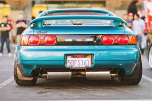 "Berk 3"" Dual Exhaust System - SW20 MR2"