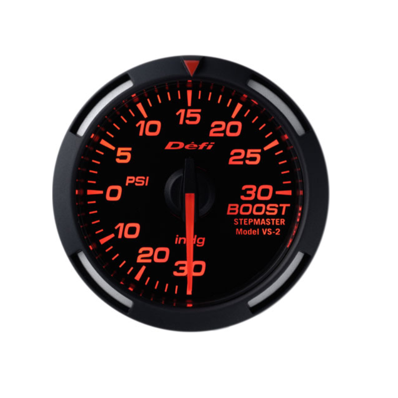 Defi Red Racer 52mm Gauge - Boost Gauge 30psi