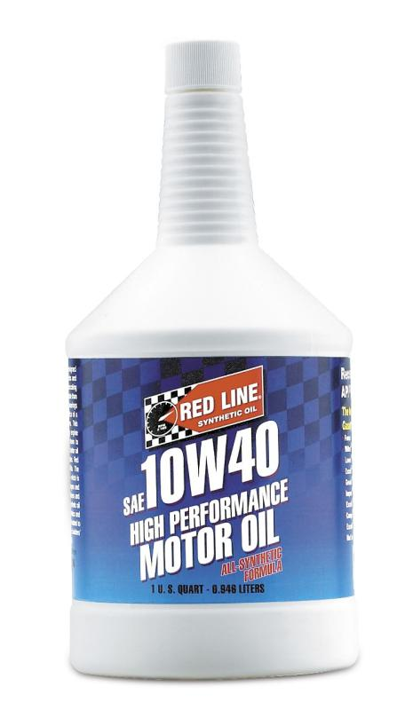Red Line 10W40 Synthetic Oil 1QT