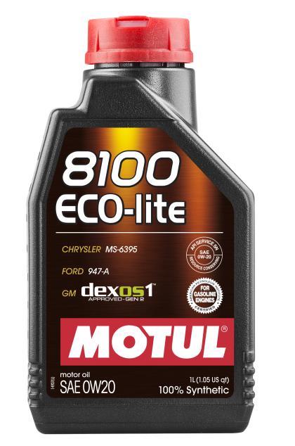 Motul 8100 0W20 ECO-Lite Synthetic Engine Oil