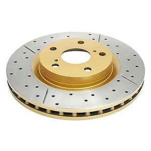 DBA Drilled & Slotted T2 Brake Rotors- FR-S / BRZ / 86