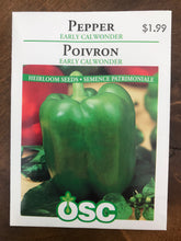 Load image into Gallery viewer, Sweet Pepper Varieties