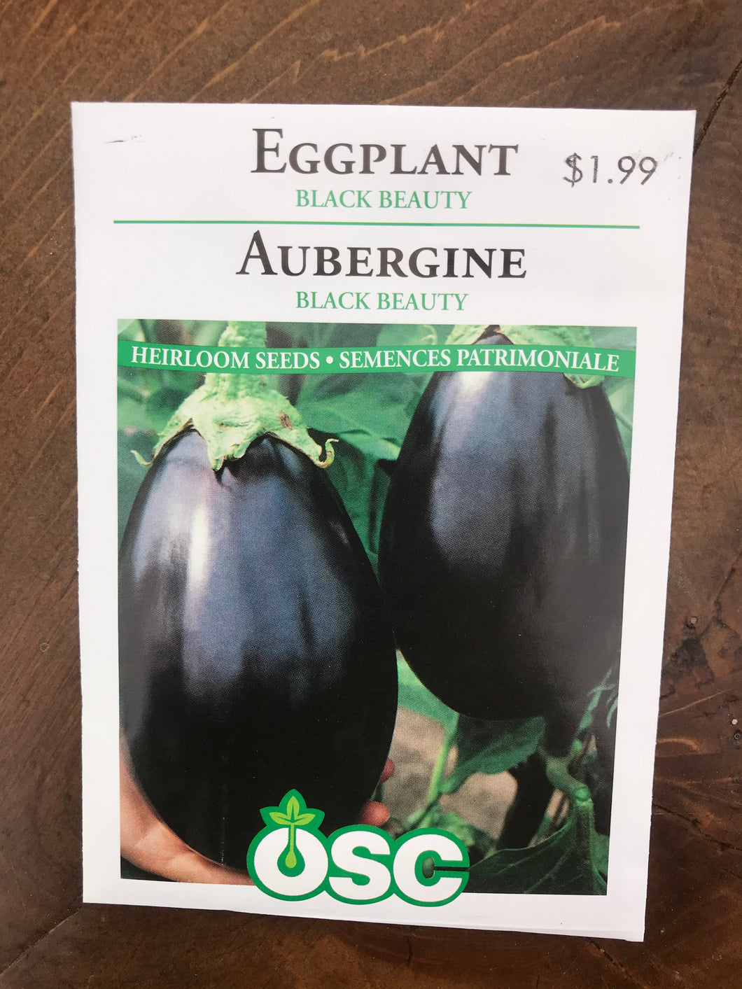Eggplant – Black Beauty