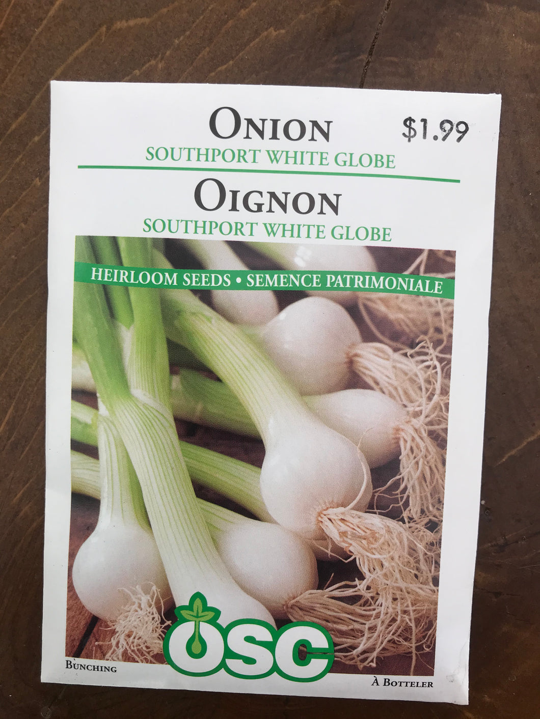 Onion – Southport White Bunching